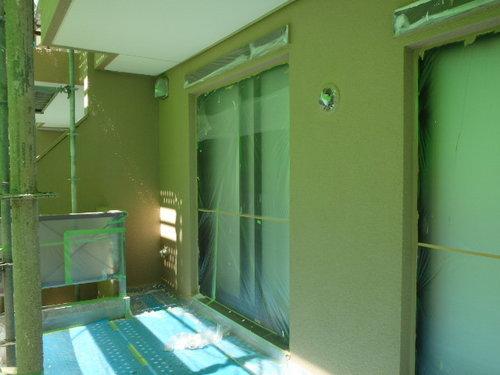 5-2C外壁塗装養生②.JPG