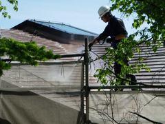⑤-2屋根洗浄9A-2.JPG