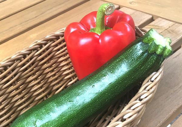 季節の焼き野菜 2種の画像