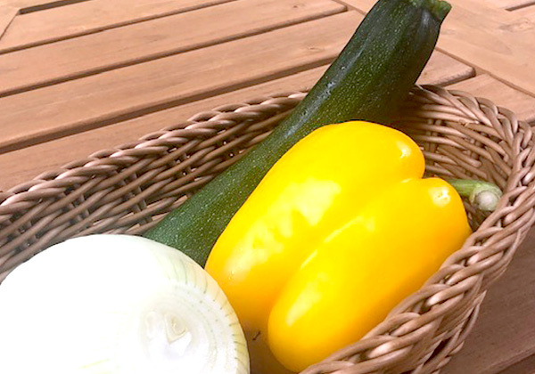 季節の焼き野菜 3種の画像